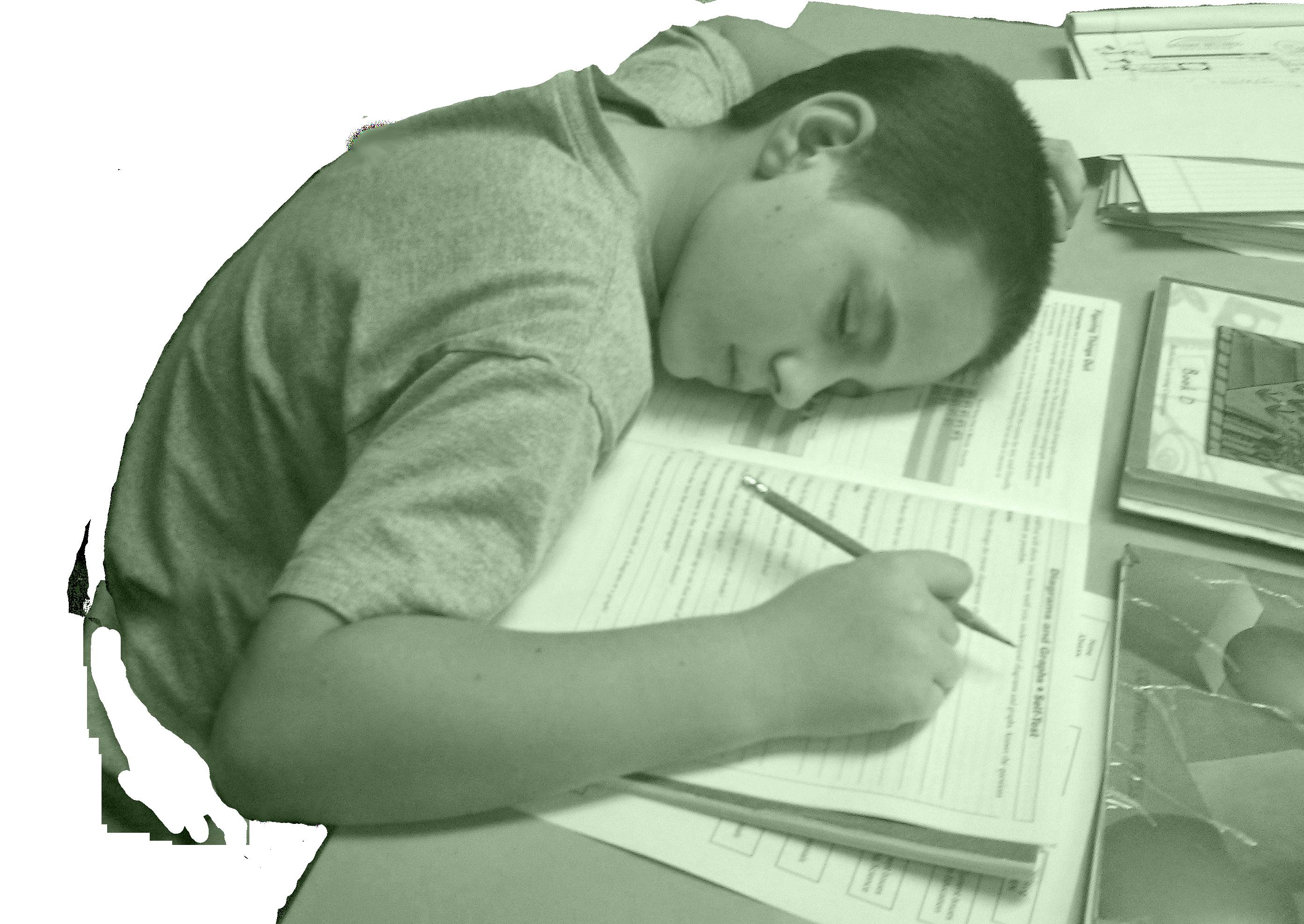 School homework unmotivated